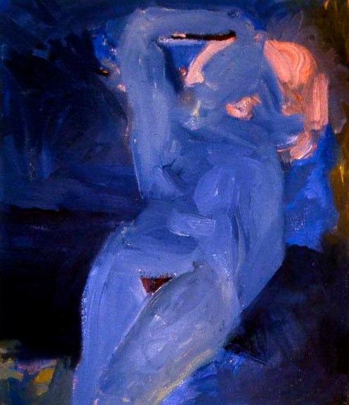 Molly Blue 15x13