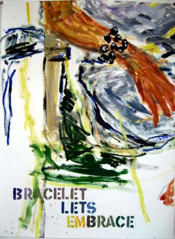 Bracelet - Let's Embrace 30 X 22