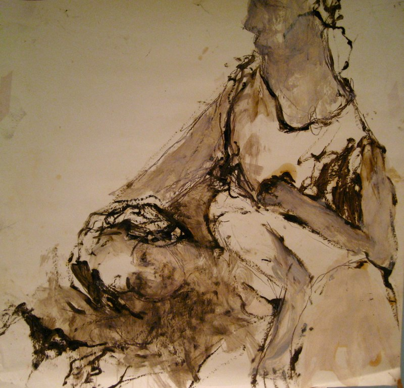 Two Figures 36.5x38