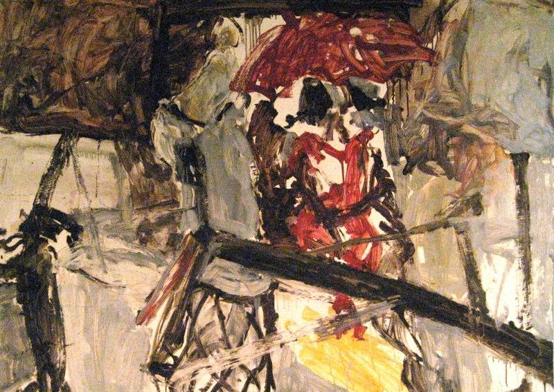 Red Umbrella In Studio 35x47.5