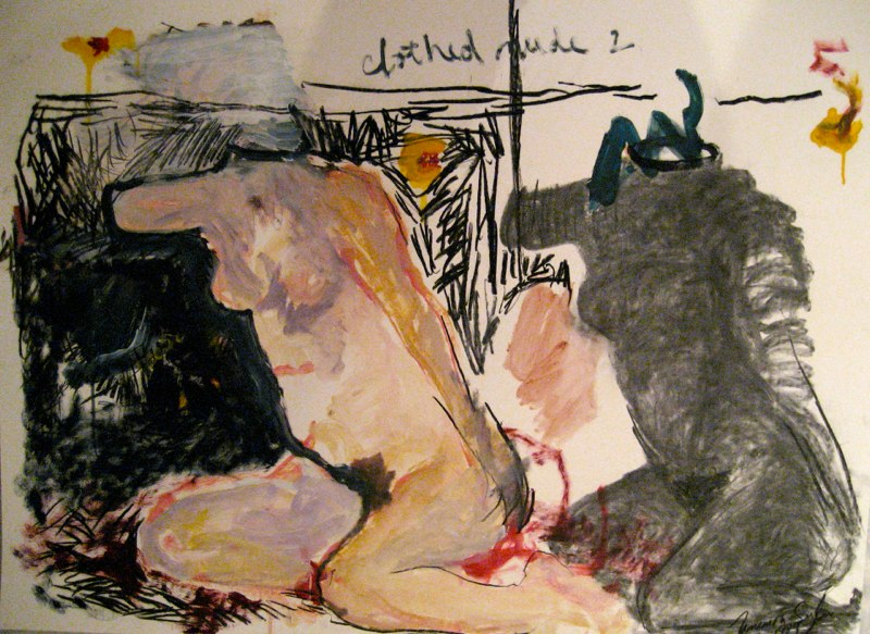Clothed Nude #2 c. 39x51