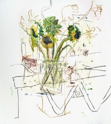 Sunflowers & Press II