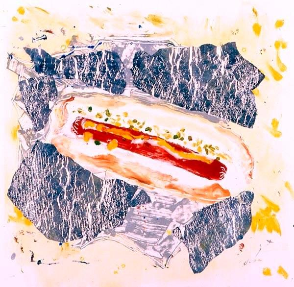 Hotdog With Foil I