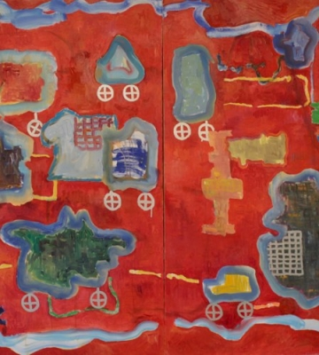 "Gizmos and Thingamajigs with Plaid Vests 50"" x 80"""