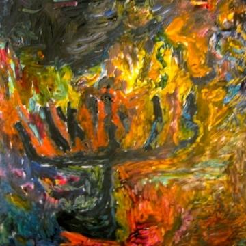 Hanukkah Ill c.12 x 12
