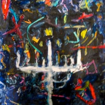 Hanukkah I c.12 x 12