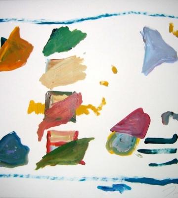 Trick - Silks with Audience 22 x 30