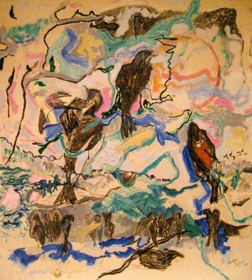 Birdlandscape 60x52
