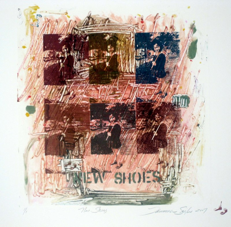 New Shoes 34x30 monotype