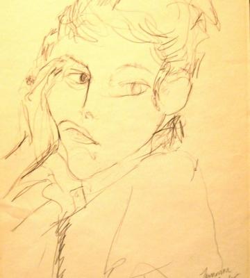 Self Portrait (pencil) 24x18