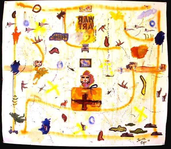 War Art 50 x 50