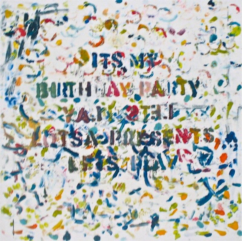 Birthday Party 30x22