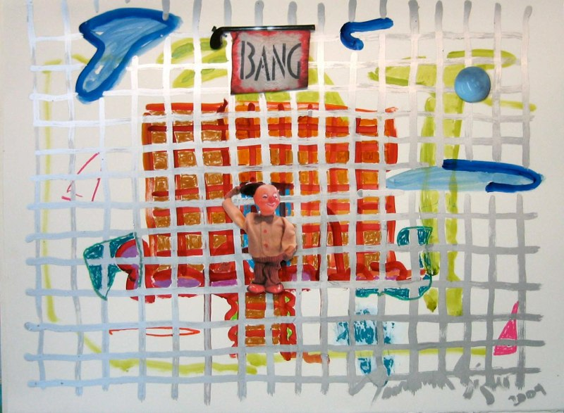 Playhouse - Red Brick Bang 22x30