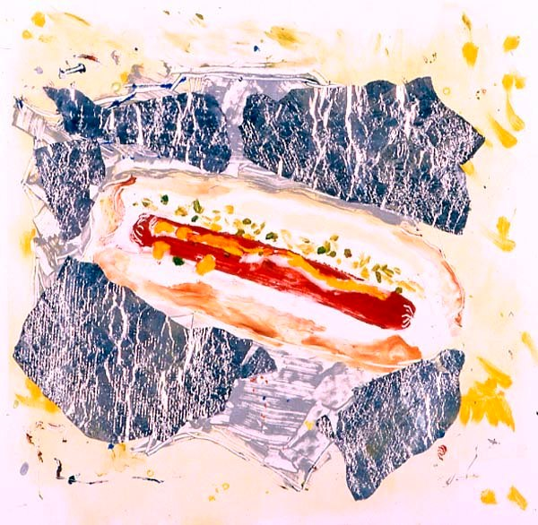 Hotdog With Foil I
